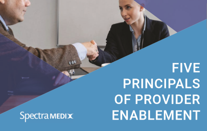 Social media image - Five Principals of Provider Enablement